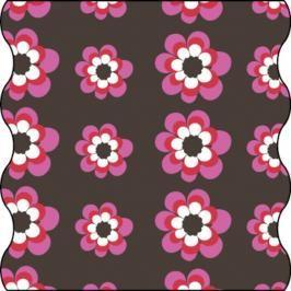 Lässig - Šátek Twister Kids květiny pink choco