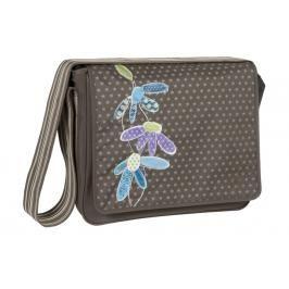 Lässig - Taška na rukojeť Casual Messenger Bag, Flowerpatch slate