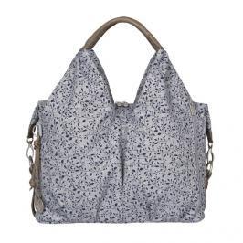 Lässig - Taška na rukojeť Green Label necklines Bag Allover Fleur - Black mélange