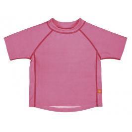 LÄSSIG - Tričko Rashguard Short Sleeve Girls 2016 - light pink XL