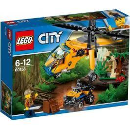 LEGO - City 60158 Nákladní helikoptéra do džungle