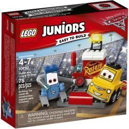 LEGO - Juniors 10732 Zastávka v boxech Guida a Luigiho