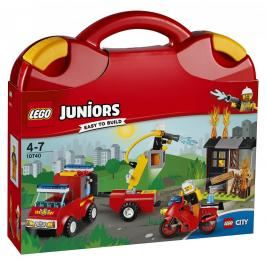 LEGO - Juniors 10740 Kufřík hasičské hlídky,