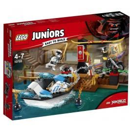 LEGO - Juniors 10755 Pronásledování v Zeneovo nindža člunu