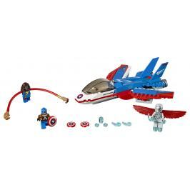 LEGO - Kapitán America A Honička Ve Stíhačce