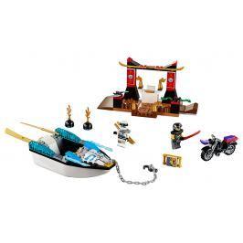 LEGO - Pronásledování V Zaneově Nindža Člunu