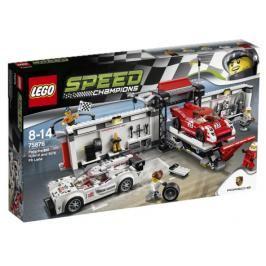 LEGO - Speed Champions 75876 Porsche 919 Hybrid a 917K ulička v boxech
