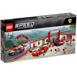 LEGO - Speed ??Champions 75889 Úžasná garáž Ferrari