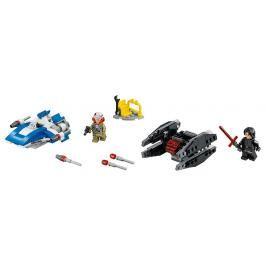 LEGO - Stíhačka A-Wing Vs. Mikrostíhačka Tie Silencer