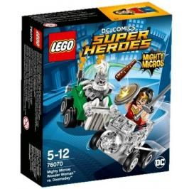 LEGO -  Super Heroes 76070 Mighty Micros: Wonder Woman vs. Doomsday