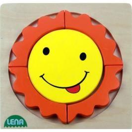 LENA - Dřevěné puzzle Sluníčko 32131