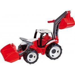 LENA - Traktor S Lžící A bagry, Červený