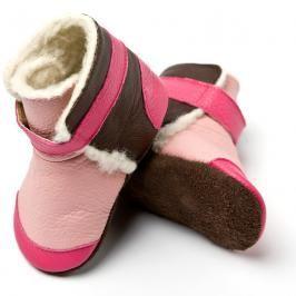 Liliputi - Kozačky Yukon Pink - velikost S (6-12 měsíců)