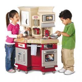 LITTLE TIKES - Little Tikes Retro kuchyňka se zvukem červená 484377