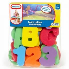 LITTLE TIKES - Písmena a čísla do vany 616969