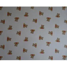LTZ - Babys bavlněná osuška s potiskem Medvídek s medem 90x100, 2ks