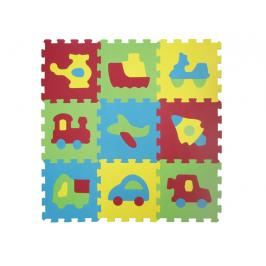 LUDI - Puzzle pěnové 84x84 cm dopravní prostředky
