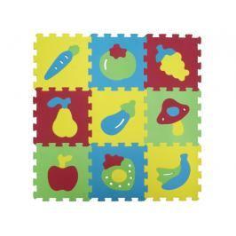 LUDI - Puzzle pěnové 84x84 cm ovoce a zelenina