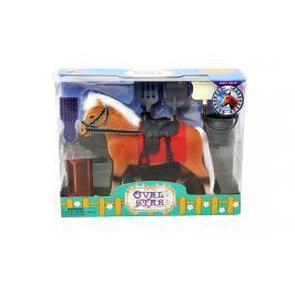 MAC TOYS - Kůň 18 cm s příslušenstvím
