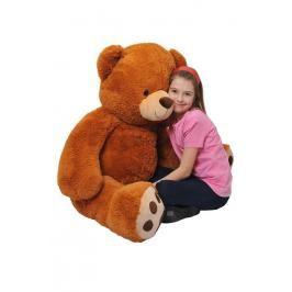 MAC TOYS - Medvěd 135 Cm Čokoládový
