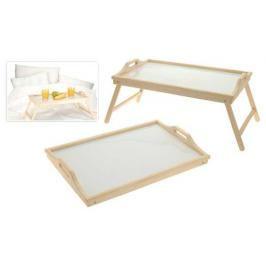 MAKRO - Dřevěný servírovací stolek