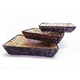 MAKRO - Sada košíků 3ks Brownie