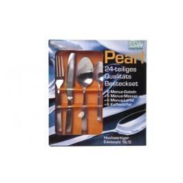 MAKRO - Nerezový příbor Pearl 24 - dílný