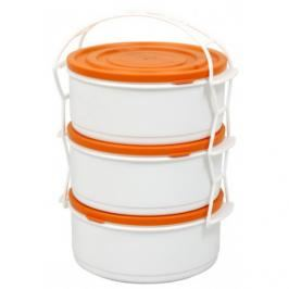 MAKRO - Jídlonosič 3 dílny  plast