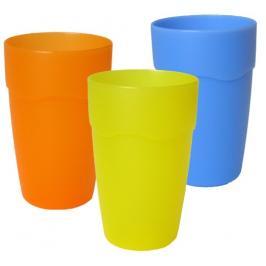 MAKRO - Pohárek plast 0,3L mix