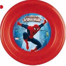 MAKRO - Talíř, umělá hmota hluboký - spider man