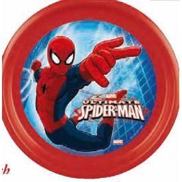 MAKRO - Talíř, umělá hmota mělký - spider man