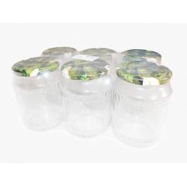 MAKRO - Zavařovací sklenice  0,7L + víčka OKURKY 6ks