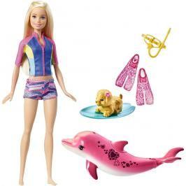 MATTEL - Barbie Ken Fashionistas Distressed Denim - oblých tvarů FNJ38
