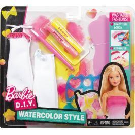 MATTEL - Barbie D.I.Y. Akvarelové Návrhářství