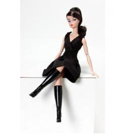 MATTEL - Barbie Klasické Černé