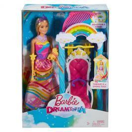 MATTEL - Barbie Princezna S Duhovou Houpačkou