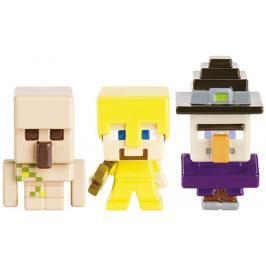 Mattel - Minecraft minifigurka 3 ks ASST