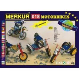 MERKUR - Stavebnice Motocykly M018