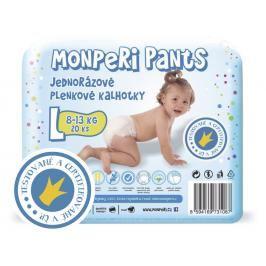 MONPERI - Jednorázové kalhotky 8-13 kg kalhotky - Pants L