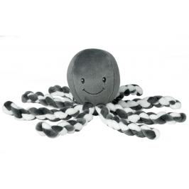 NATTOU - První hračka miminka chobotnička PIU PIU Lapide anthracite 0m +