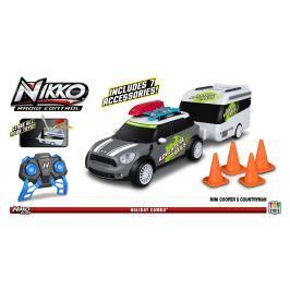 NIKKO - Mini Countryman s karavanem šedý