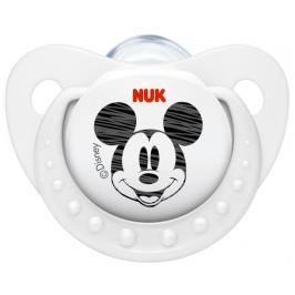 NUK - Dudlík Trendline MICKEY,SI,V1 (0-6m.), bílá
