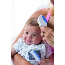 NUVITA - Sada kartáčů na vlasy pro miminka - modrá