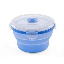 NUVITA - Univerzální skládací silikonová nádoba na potraviny 540ml modrá