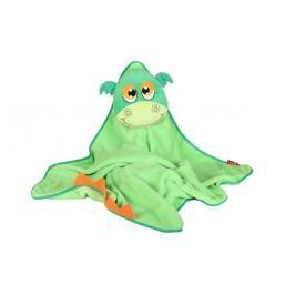Okiedog - Dětská cestovní deka s polštářkem - Drak