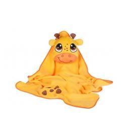 Okiedog - Dětská cestovní deka s polštářkem - Žirafa