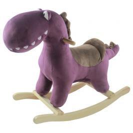 PETITE&MARS - Houpačka s melodií dinosaurus Albert Purple Petite&Mars
