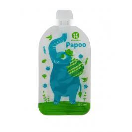 PETITE&MARS - Kapsička na jídlo Papoo Original Elephant 6 ks