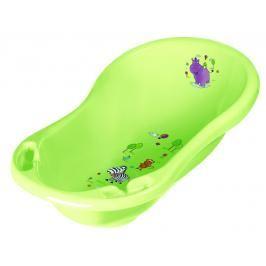 PRIMA BABY - Vanička 84cm Hippo se zátkou - zelená