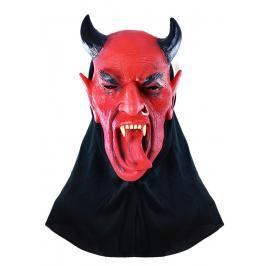 RAPPA - Karnevalová maska čert s jazykem